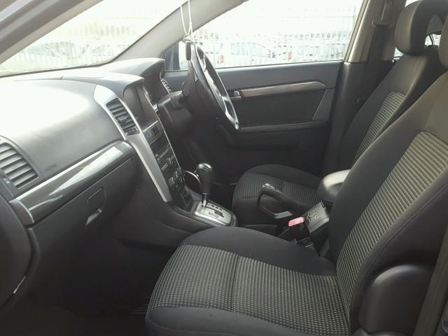 Naudotos automobiliu dallys Foto 5 Chevrolet CAPTIVA 2008 2.0 Automatinė Visureigis 4/5 d. Melyna 2018-11-30 A4218