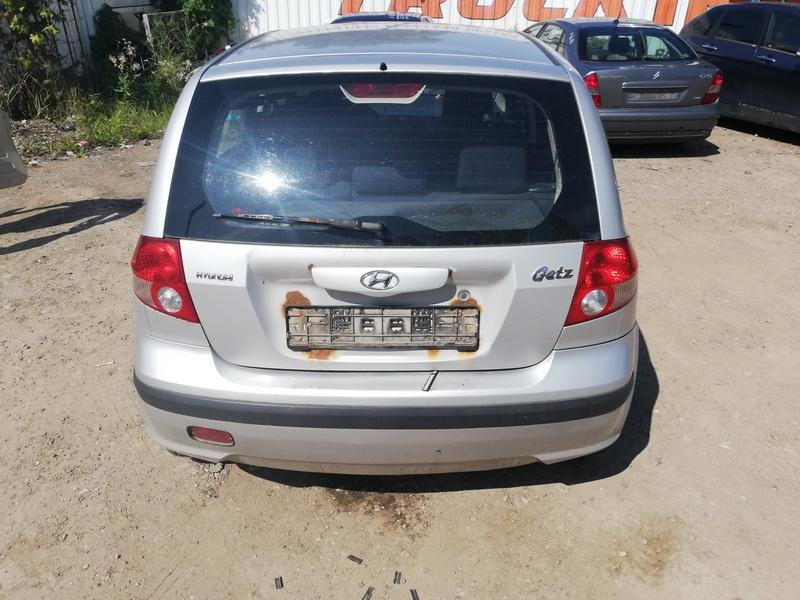 Naudotos automobilio dalys Hyundai GETZ 2004 1.1 Mechaninė Hečbekas 4/5 d. Pilka 2019-8-06