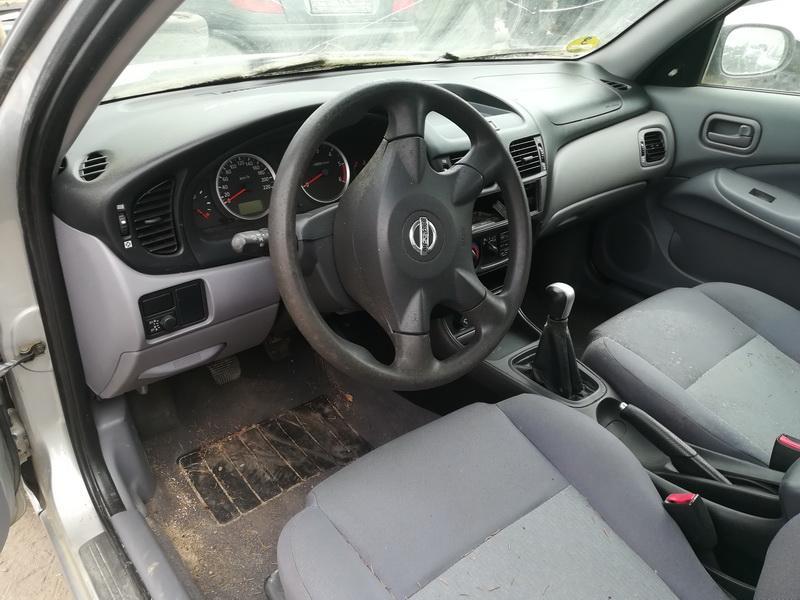 Naudotos automobilio dalys Nissan ALMERA 2003 1.5 Mechaninė Hečbekas 4/5 d. Sidabrine 2019-5-09