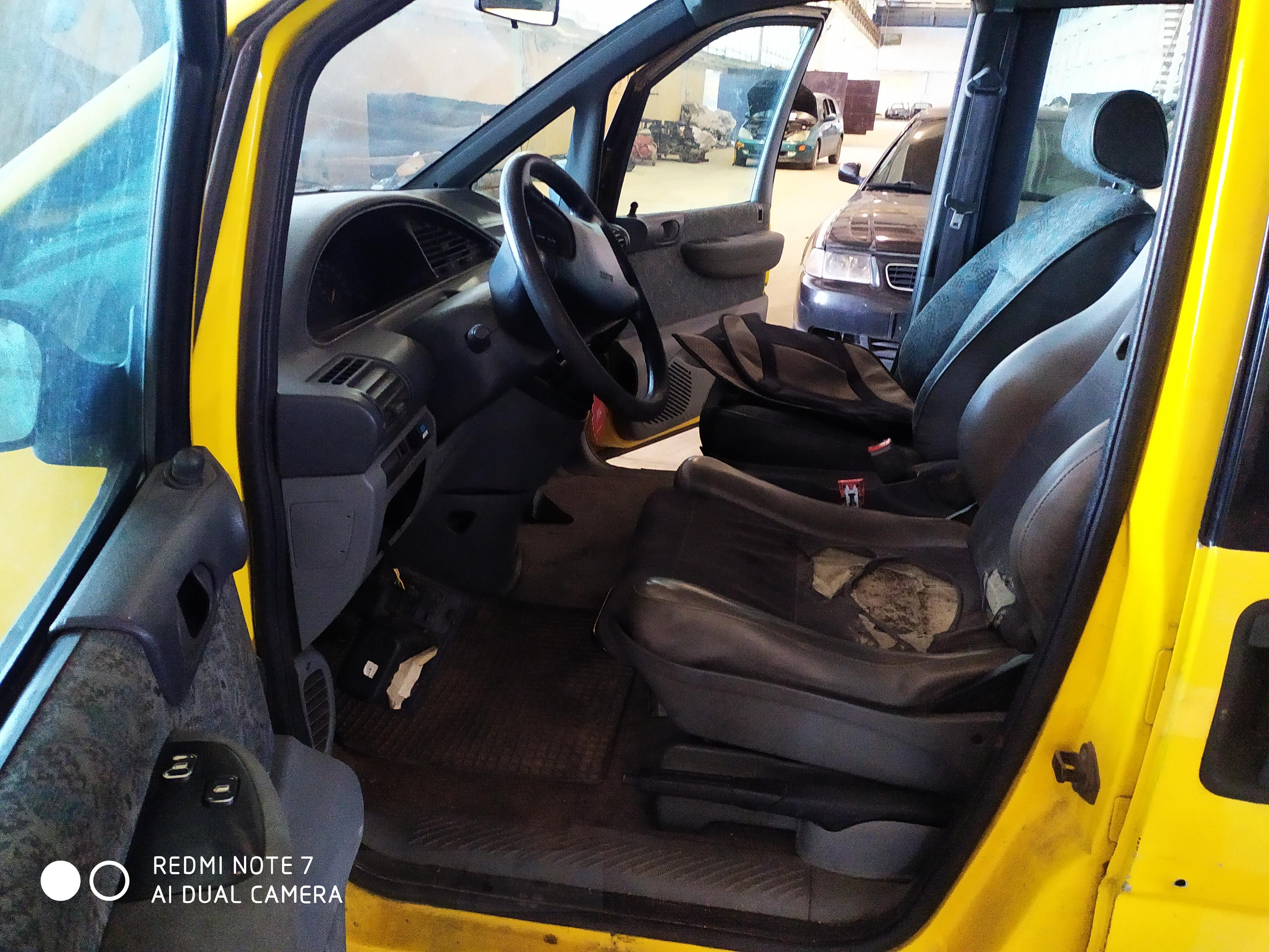 Подержанные Автозапчасти Fiat ULYSSE 1999 1.9 машиностроение минивэн 4/5 d. желтый 2020-9-04