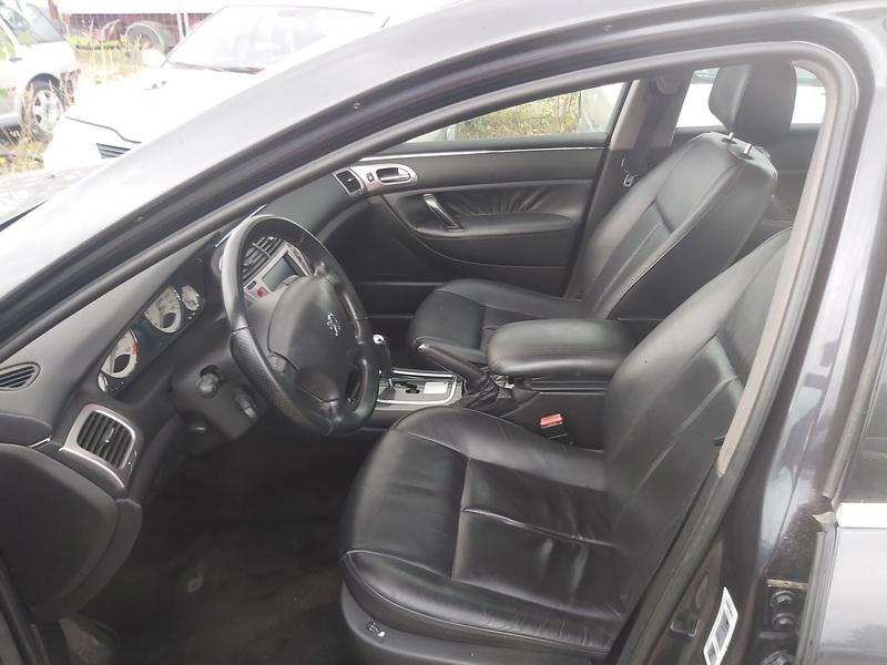 Naudotos automobiliu dallys Foto 5 Peugeot 607 2007 2.7 Automatinė Sedanas 4/5 d. Juoda 2020-10-15 A5760
