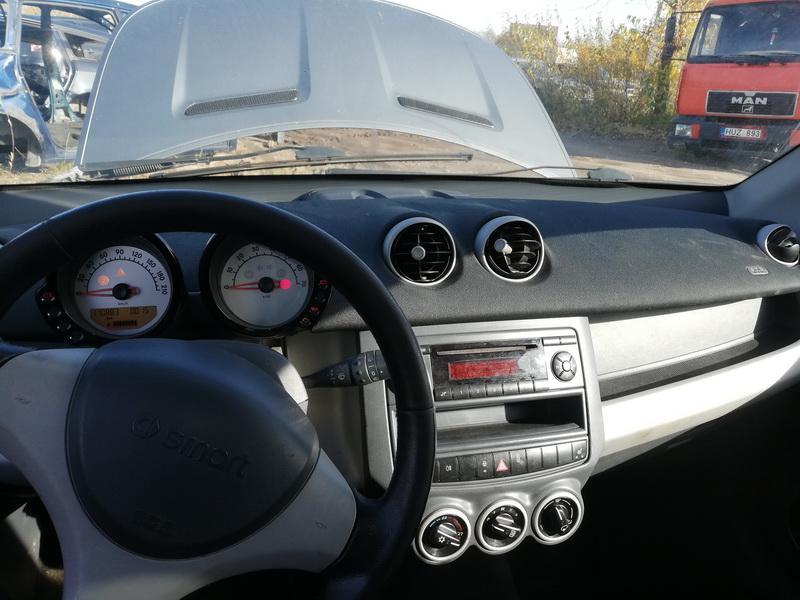 Naudotos automobiliu dallys Foto 3 Smart FORFOUR 2004 1.5 Mechaninė Hečbekas 4/5 d. Pilka 2019-10-18 A4844