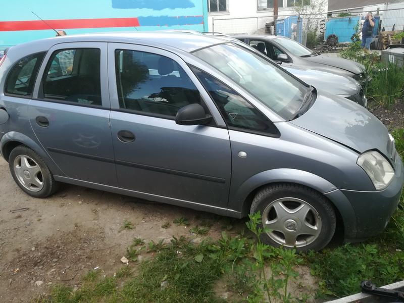 Naudotos automobiliu dallys Foto 3 Opel MERIVA 2004 1.6 Mechaninė Hečbekas 4/5 d. Sviesiai pilka 2019-6-06 A4548
