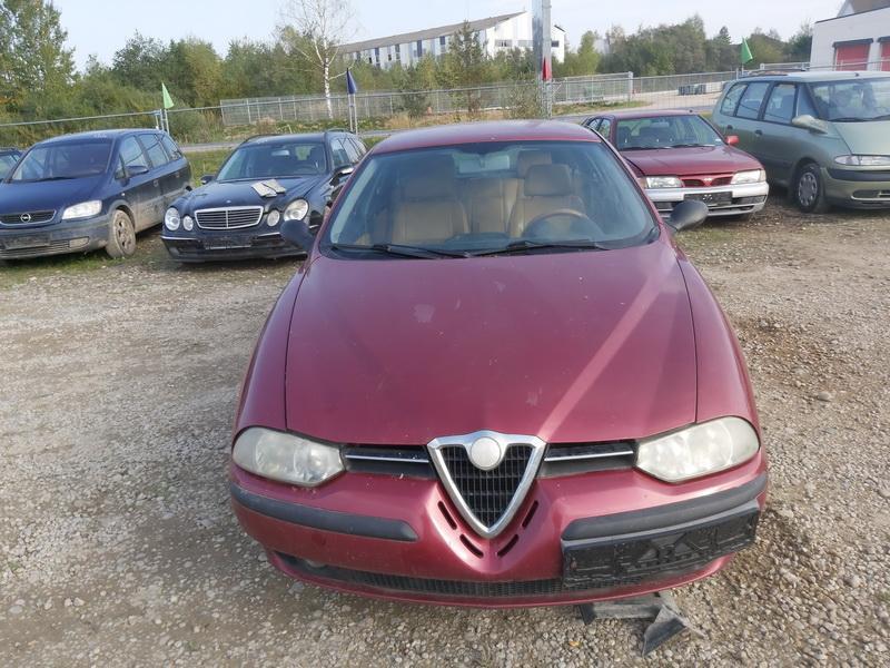 Naudotos automobiliu dallys Foto 3 Alfa-Romeo 156 2001 1.9 Mechaninė Universalas 4/5 d. Raudona 2020-9-30 A5697