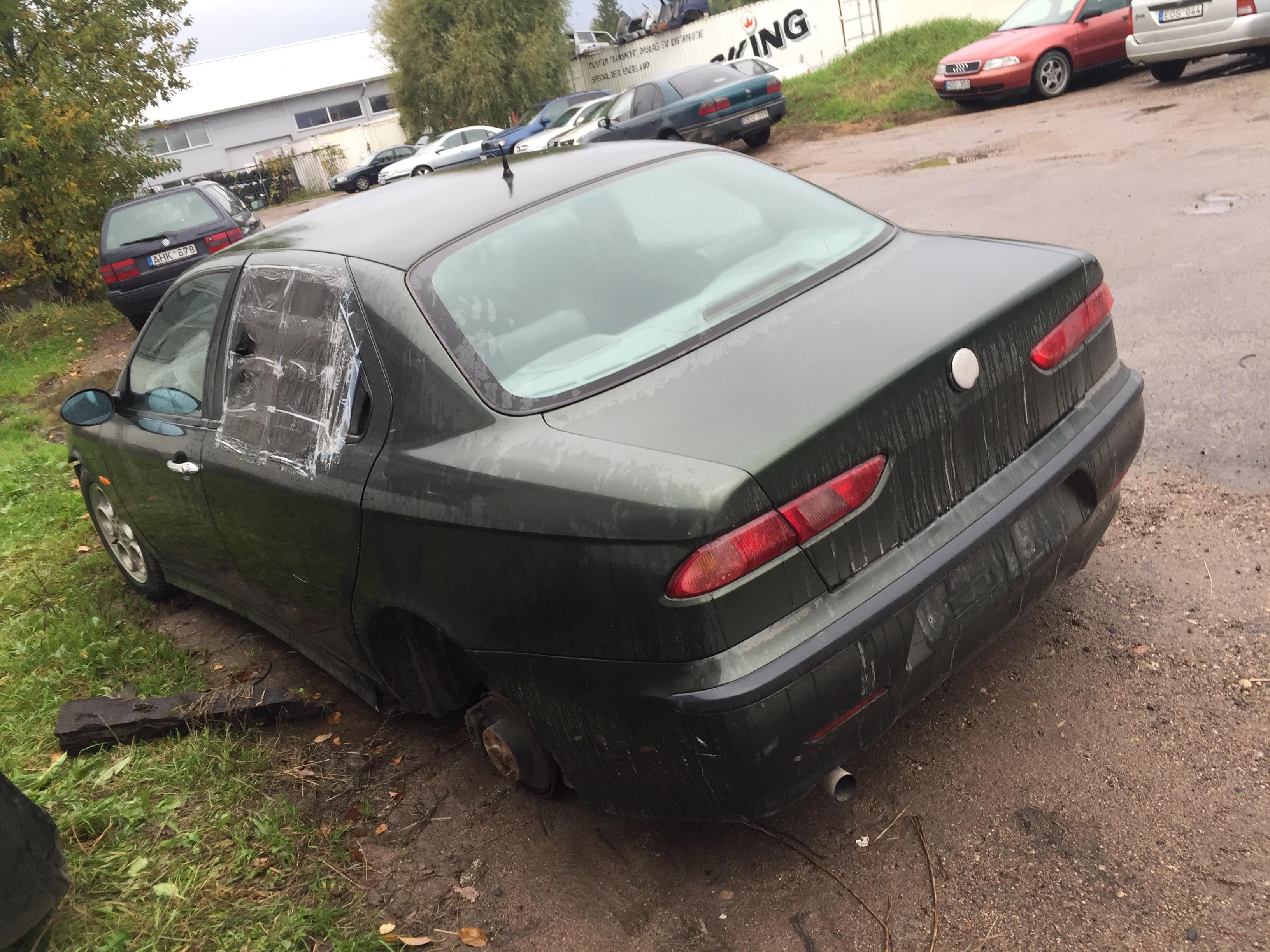 Naudotos automobiliu dallys Foto 8 Alfa-Romeo 156 1997 1.8 Mechaninė Sedanas 4/5 d. Zalia 2017-10-04 A3478