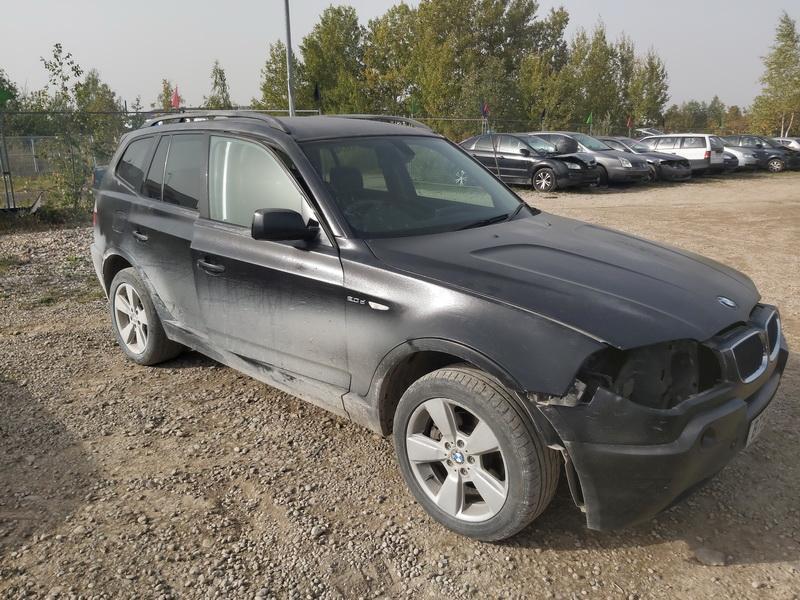 Naudotos automobilio dalys BMW X3 2006 2.0 Mechaninė Visureigis 4/5 d. Juoda 2020-10-01