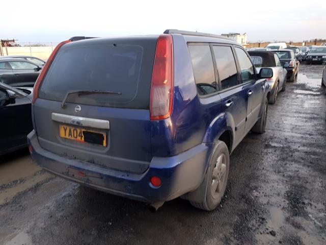 Naudotos automobiliu dallys Foto 3 Nissan X-TRAIL 2004 2.2 Mechaninė Visureigis 4/5 d. Melyna 2020-2-07 A5065