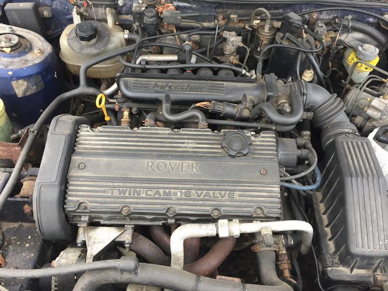 Naudotos automobiliu dallys Foto 2 Rover 200-SERIES 1997 1.4 Mechaninė Hečbekas 4/5 d. Melyna 2018-10-30 A4151