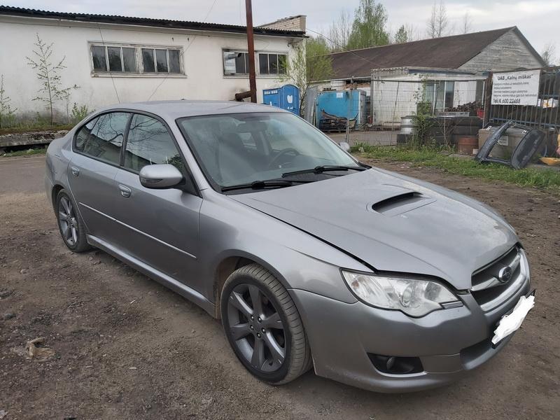 Naudotos automobilio dalys Subaru LEGACY 2009 2.0 Mechaninė Sedanas 4/5 d. Pilka 2020-5-11