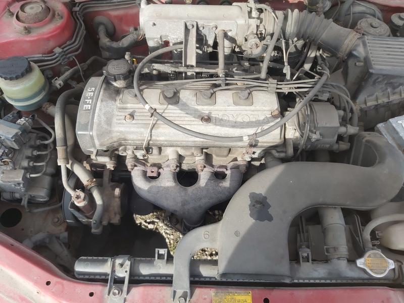 Naudotos automobiliu dallys Foto 3 Toyota PASEO 1997 1.5 Mechaninė Kupė 2/3 d. Raudona 2020-10-17 A5767