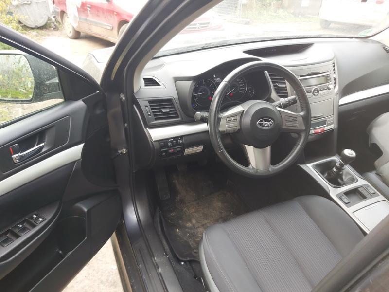 Naudotos automobilio dalys Subaru LEGACY 2010 2.0 Mechaninė Universalas 4/5 d. Juoda 2020-10-06