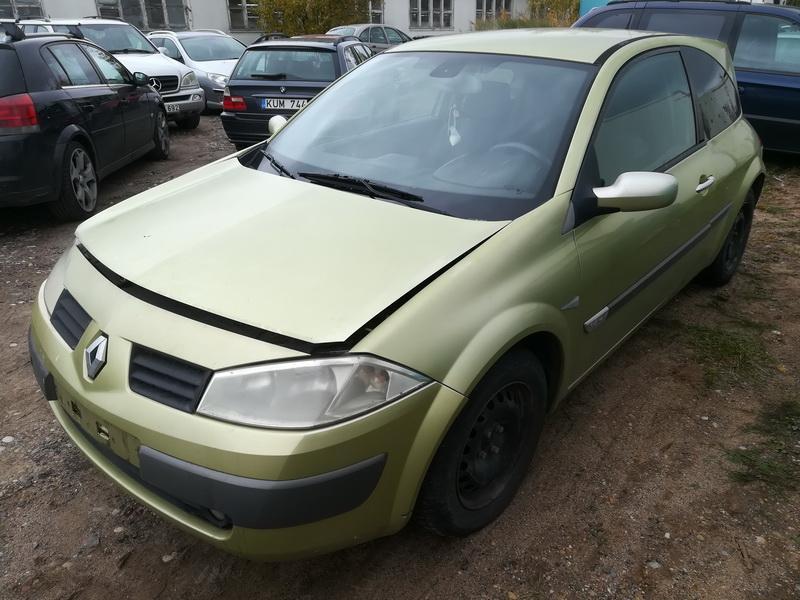 Naudotos automobiliu dallys Foto 4 Renault MEGANE 2003 1.6 Mechaninė Hečbekas 2/3 d. Geltona 2019-10-05 A4809