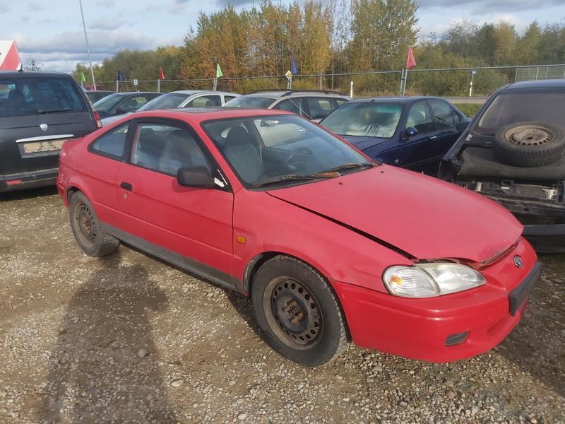 Подержанные Автозапчасти Toyota PASEO 1997 1.5 машиностроение Купе 2/3 d. красный 2020-10-17