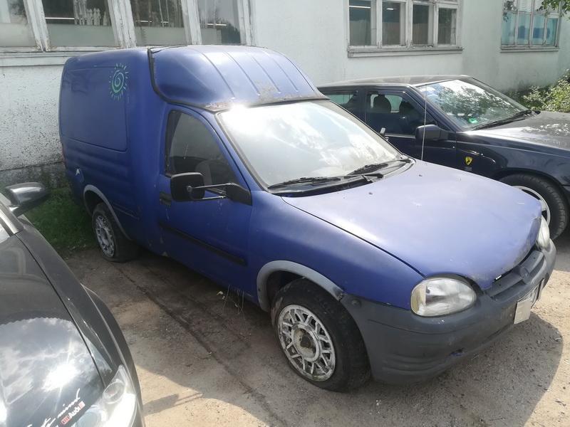 Naudotos automobiliu dallys Foto 2 Opel COMBO 1996 1.7 Mechaninė Komercinis 2/3 d. Melyna 2019-6-11 A4556