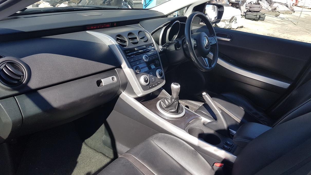 Naudotos automobiliu dallys Foto 4 Mazda CX-7 2009 2.3 Mechaninė Visureigis 4/5 d. Pilka 2017-7-17 A3356