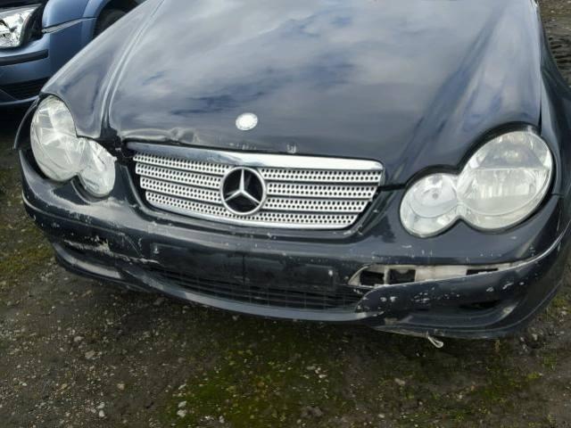 Naudotos automobiliu dallys Foto 5 Mercedes-Benz C-CLASS 2007 1.8 Mechaninė Hečbekas 2/3 d. Juoda 2018-4-04 A3684