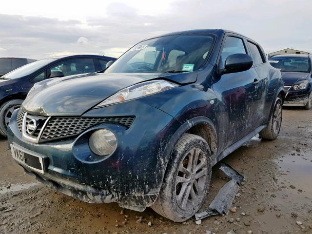 Подержанные Автозапчасти Nissan JUKE 2011 1.5 машиностроение напрямик 4/5 d. синий 2019-12-13