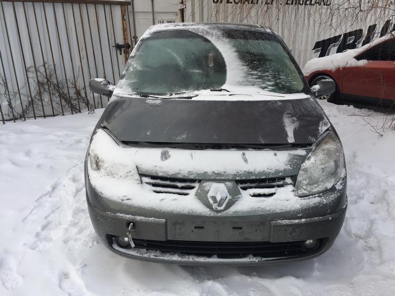 Naudotos automobilio dalys Renault GRAND SCENIC 2005 1.9 Mechaninė Vienatūris 4/5 d. Pilka 2019-1-28
