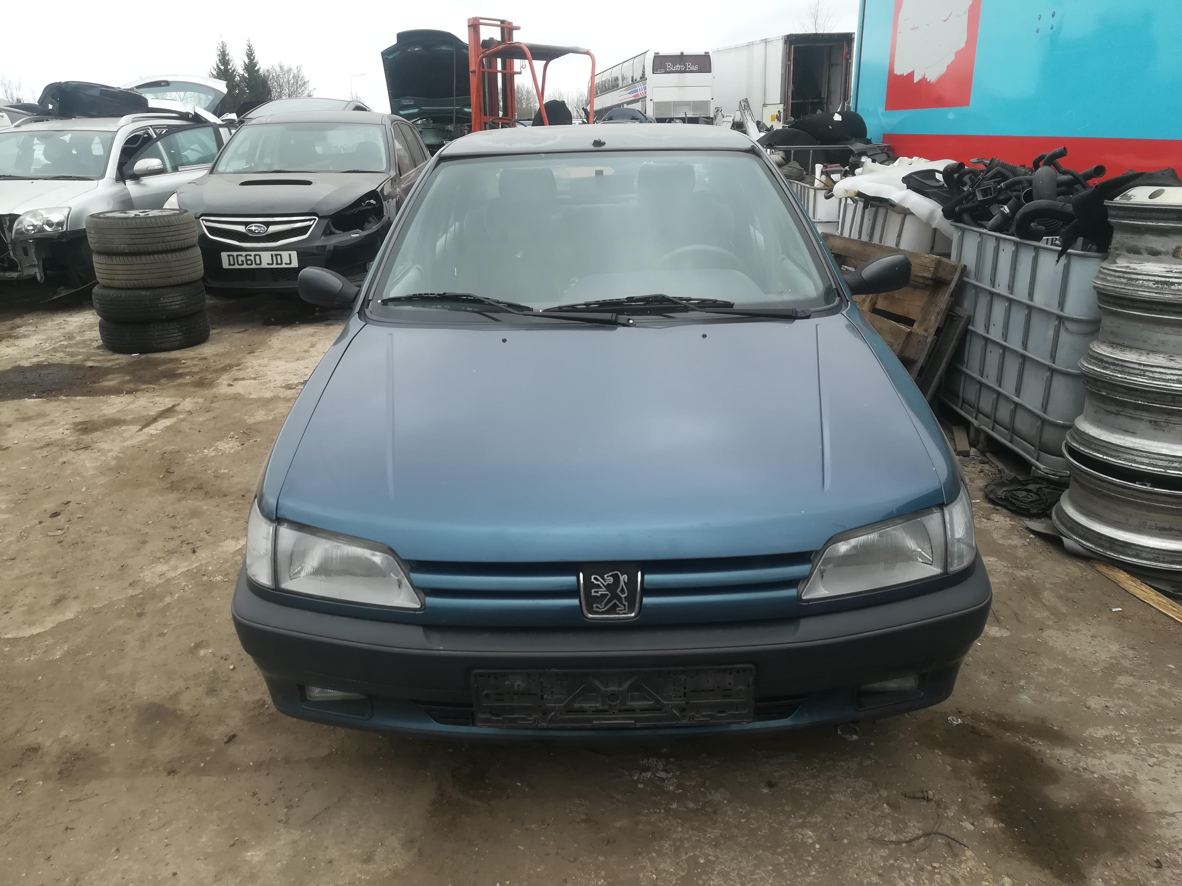 Naudotos automobilio dalys Peugeot 306 1995 1.8 Automatinė Sedanas 4/5 d. Melyna 2019-4-08