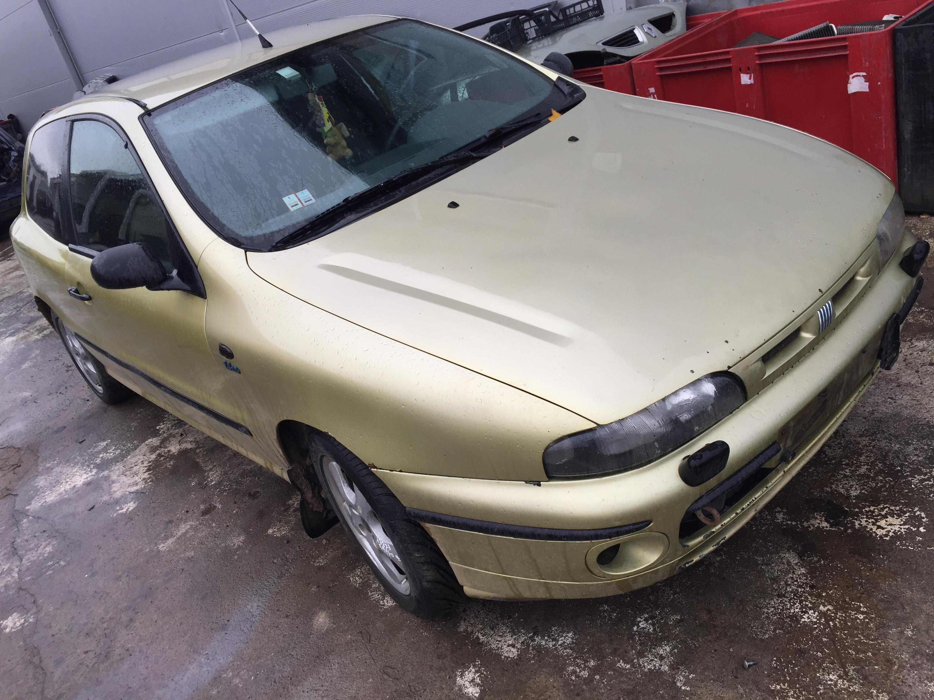 Naudotos automobilio dalys Fiat BRAVO 1998 1.4 Mechaninė Hečbekas 2/3 d. Auksine 2017-10-04