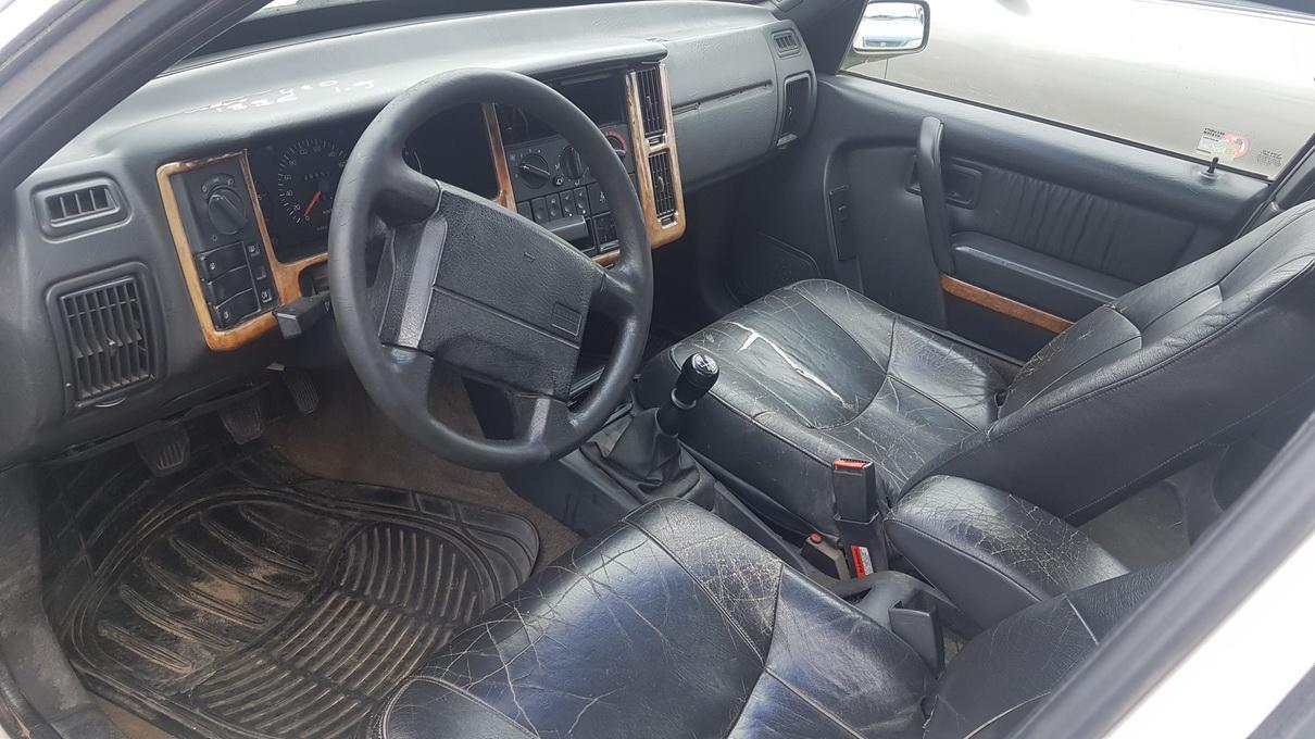 Naudotos automobiliu dallys Foto 4 Volvo 440 1996 1.9 Mechaninė Sedanas 4/5 d. Balta 2017-7-25 A3367