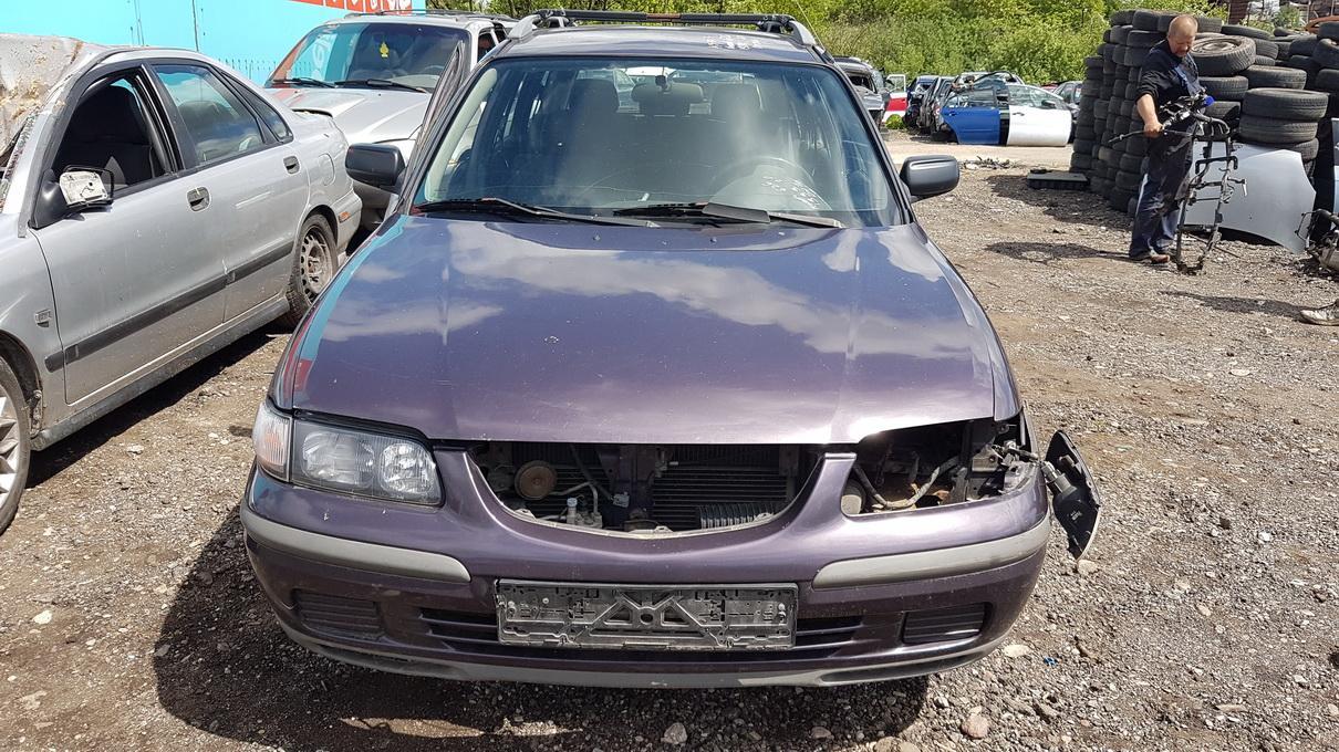 Naudotos automobilio dalys Mazda 626 1999 2.0 Mechaninė Universalas 4/5 d. Violetine 2017-6-01