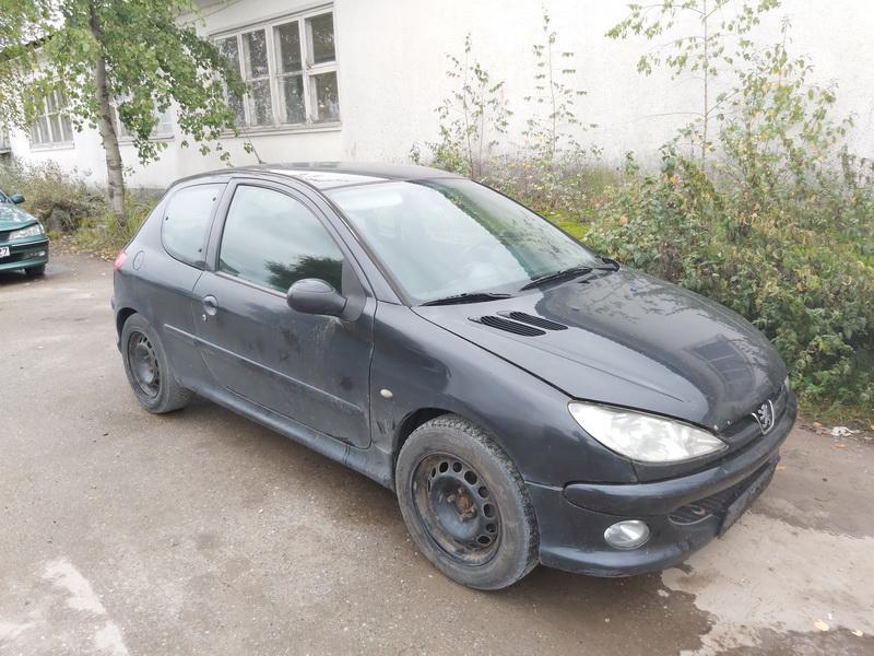 Naudotos automobilio dalys Peugeot 206 2004 1.6 Mechaninė Hečbekas 2/3 d. Juoda 2020-9-21