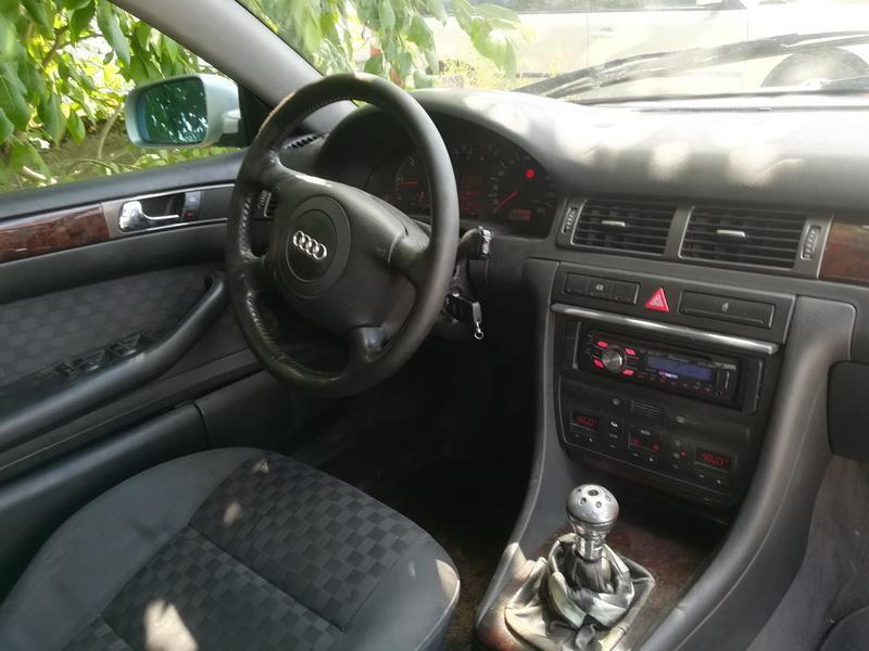 Naudotos automobilio dalys Audi A6 1998 2.5 Mechaninė Sedanas 4/5 d. Pilka 2019-7-02