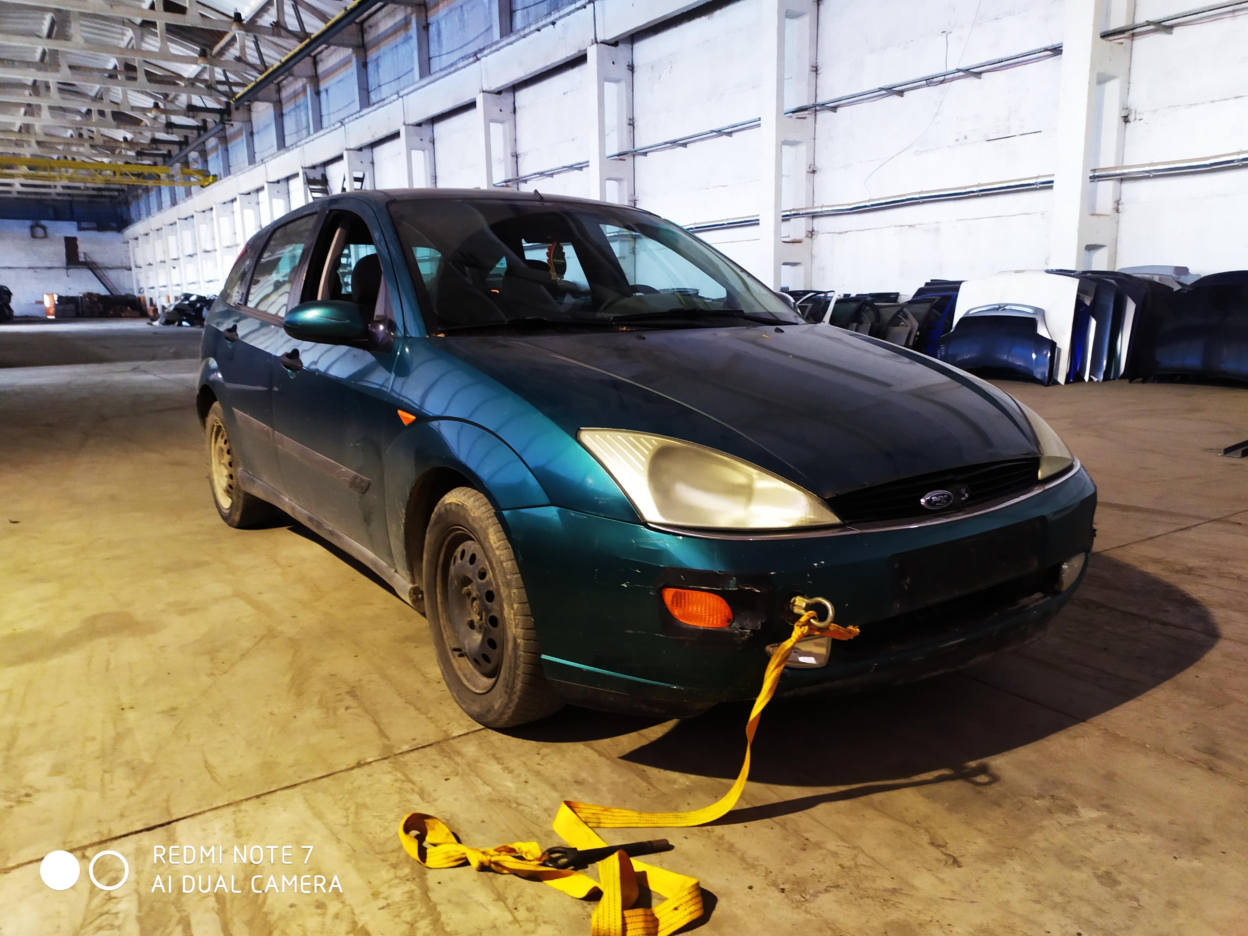 Naudotos automobilio dalys Ford FOCUS 1999 1.8 Mechaninė Hečbekas 4/5 d. Zalia 2020-8-20