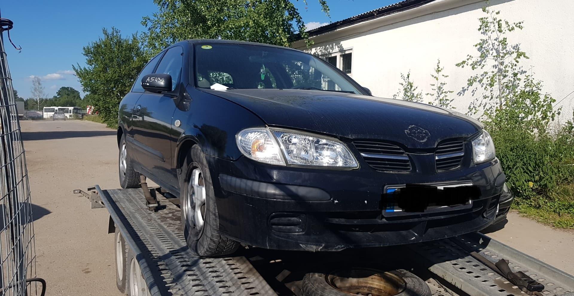 Naudotos automobilio dalys Nissan ALMERA 2001 2.2 Mechaninė Hečbekas 2/3 d. Juoda 2020-7-17