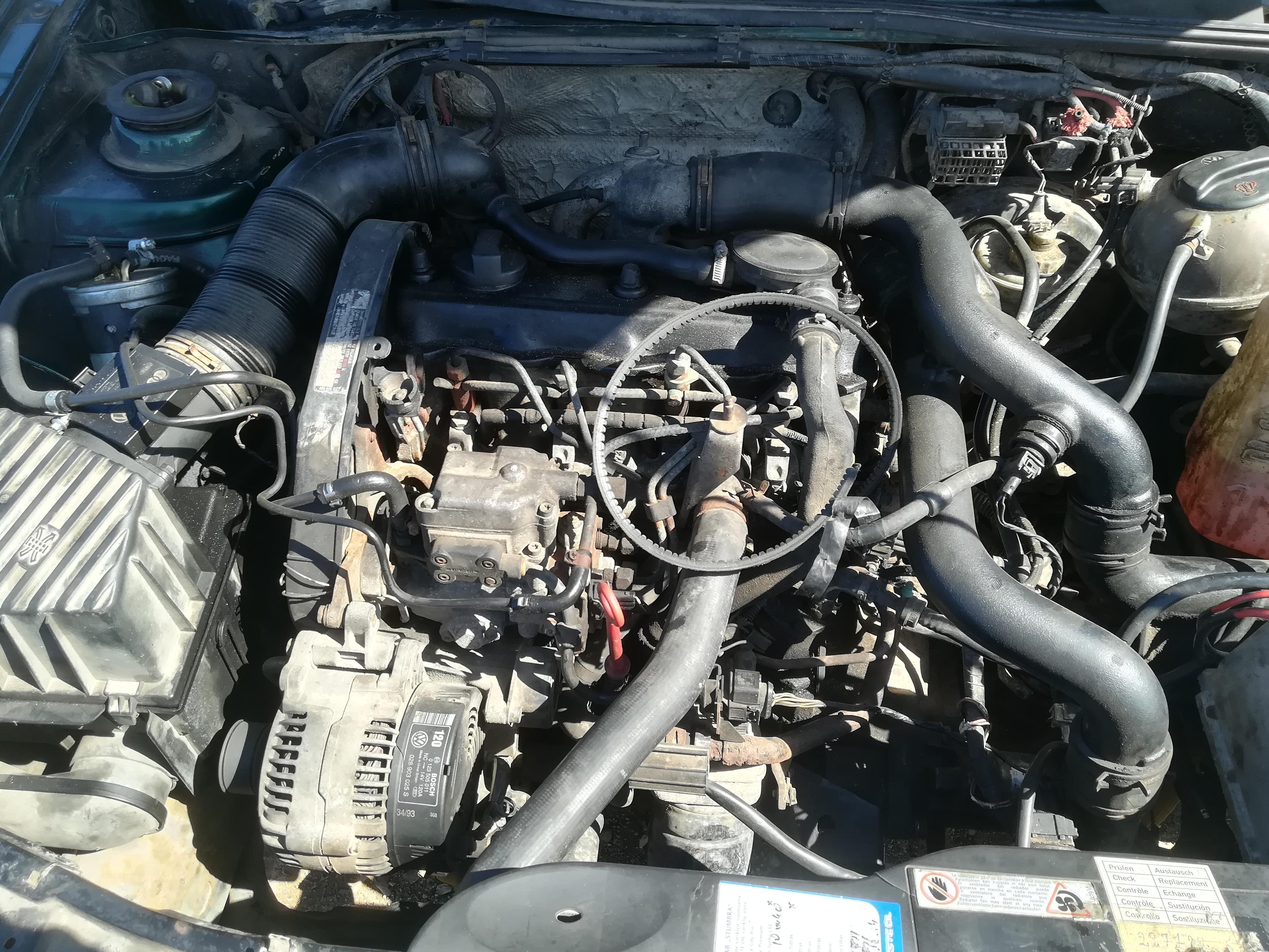 Naudotos automobiliu dallys Foto 2 Volkswagen PASSAT 1995 1.9 Mechaninė Universalas 4/5 d. Zalia 2019-4-13 A4419