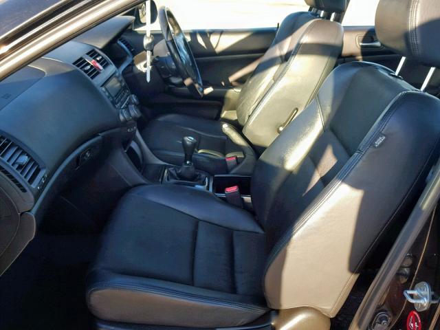 Naudotos automobiliu dallys Foto 5 Honda ACCORD 2008 2.2 Mechaninė Sedanas 4/5 d. Juoda 2019-2-06 A4303