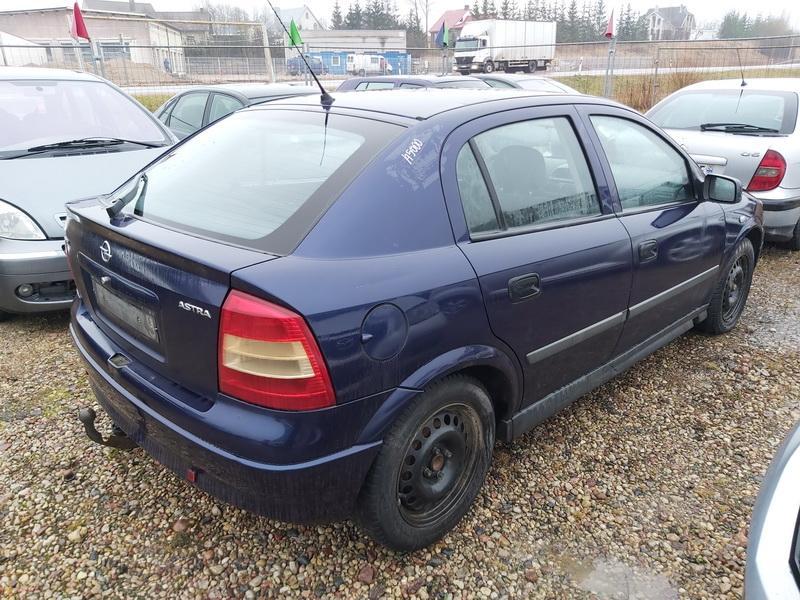Naudotos automobiliu dallys Foto 8 Opel ASTRA 1999 1.7 Mechaninė Hečbekas 4/5 d. Melyna 2020-1-10 A5000