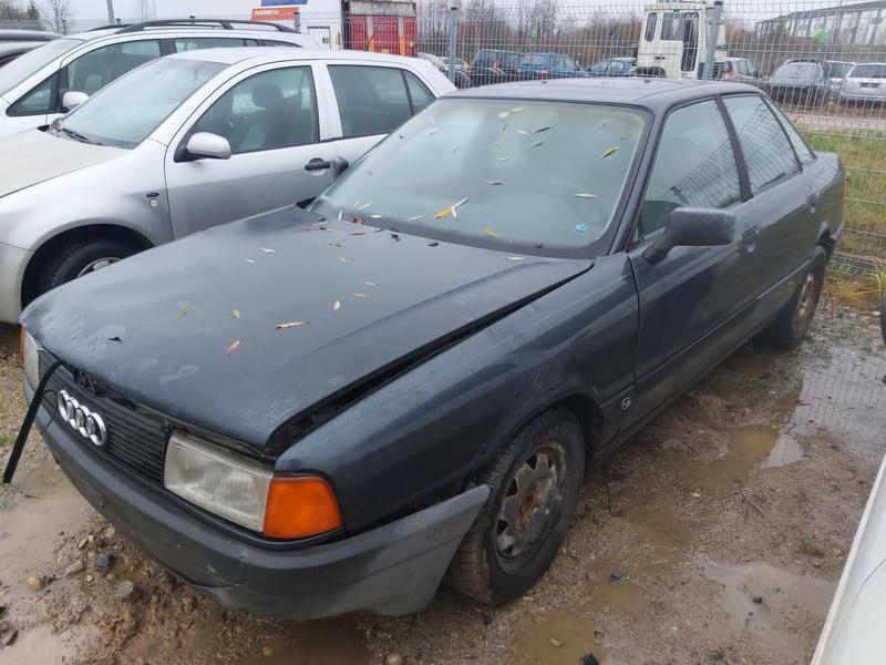 Подержанные Автозапчасти Foto 3 Audi 80 1987 1.8 машиностроение седан 4/5 d. синий 2020-11-18 A5834