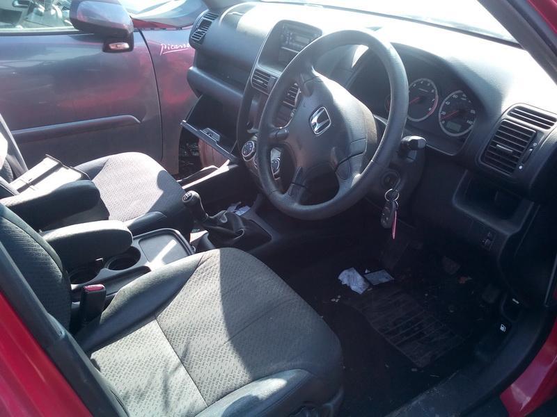 Naudotos automobiliu dallys Foto 5 Honda CR-V 2004 2.0 Mechaninė Visureigis 4/5 d. Raudona 2018-4-04 A3689