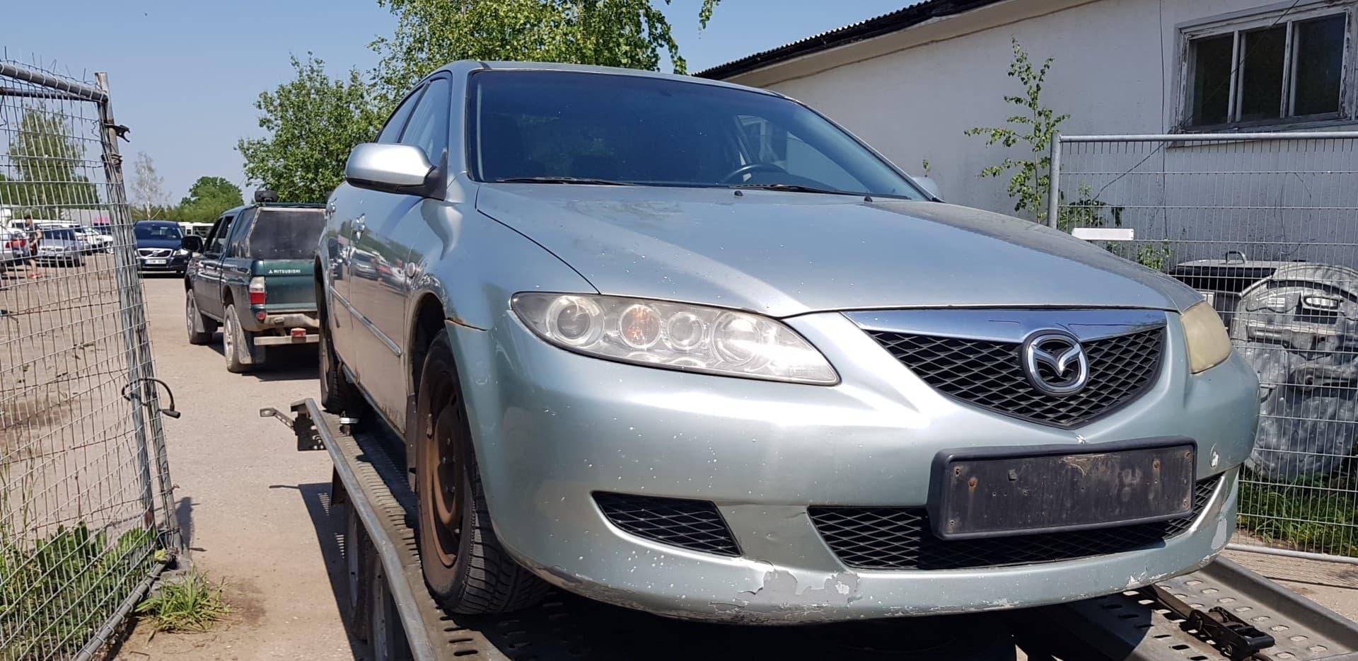 Naudotos automobilio dalys Mazda 6 2002 2.0 Mechaninė Sedanas 4/5 d. Pilka 2020-6-06