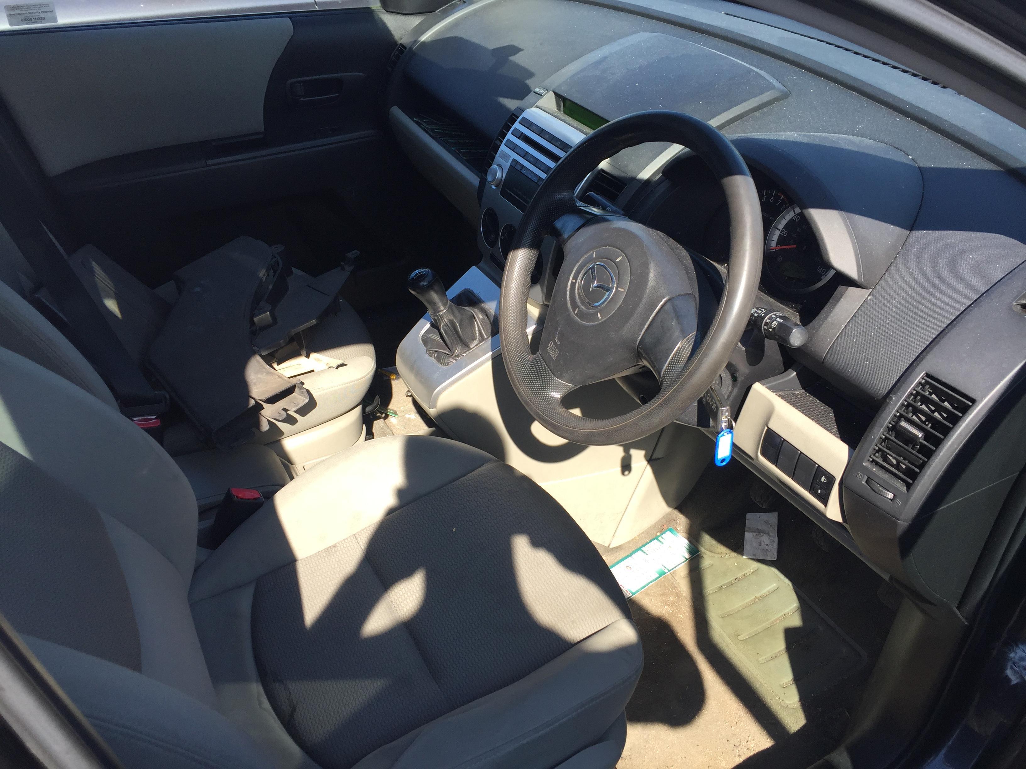 Naudotos automobilio dalys Mazda 5 2005 1.8 Mechaninė Vienatūris 4/5 d. Pilka 2017-8-30