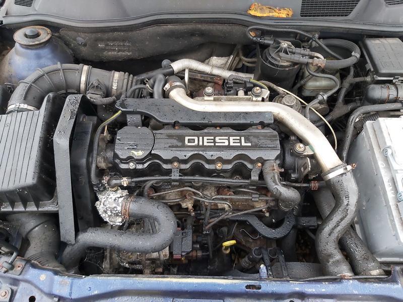 Naudotos automobiliu dallys Foto 2 Opel ASTRA 1999 1.7 Mechaninė Hečbekas 4/5 d. Melyna 2020-1-10 A5000