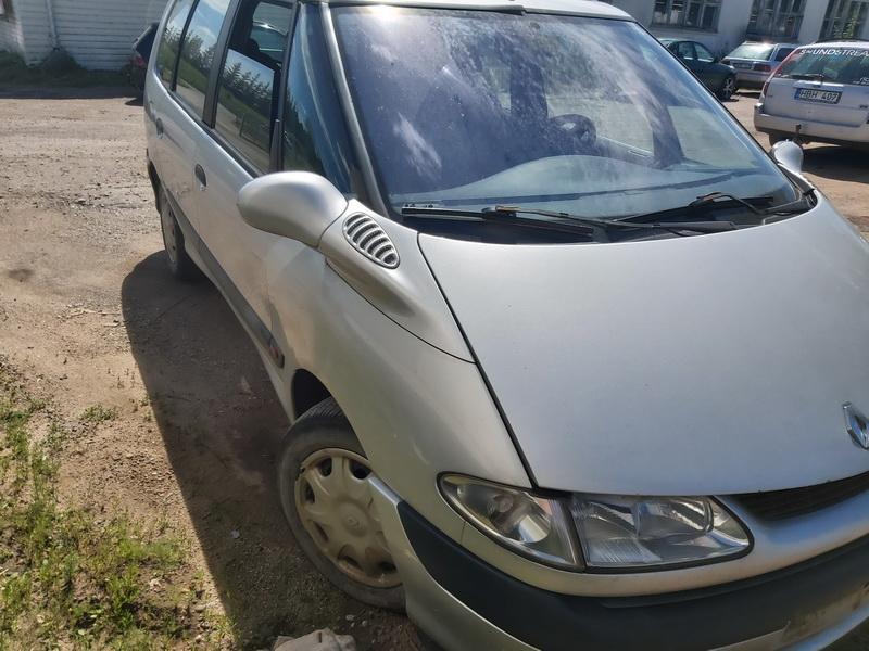 Naudotos automobilio dalys Renault ESPACE 2000 2.0 Mechaninė Vienatūris 4/5 d. Pilka 2020-7-02