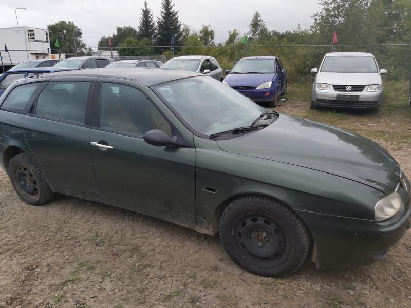 Naudotos automobilio dalys Alfa-Romeo 156 2000 1.9 Mechaninė Universalas 4/5 d. Zalia 2020-9-11