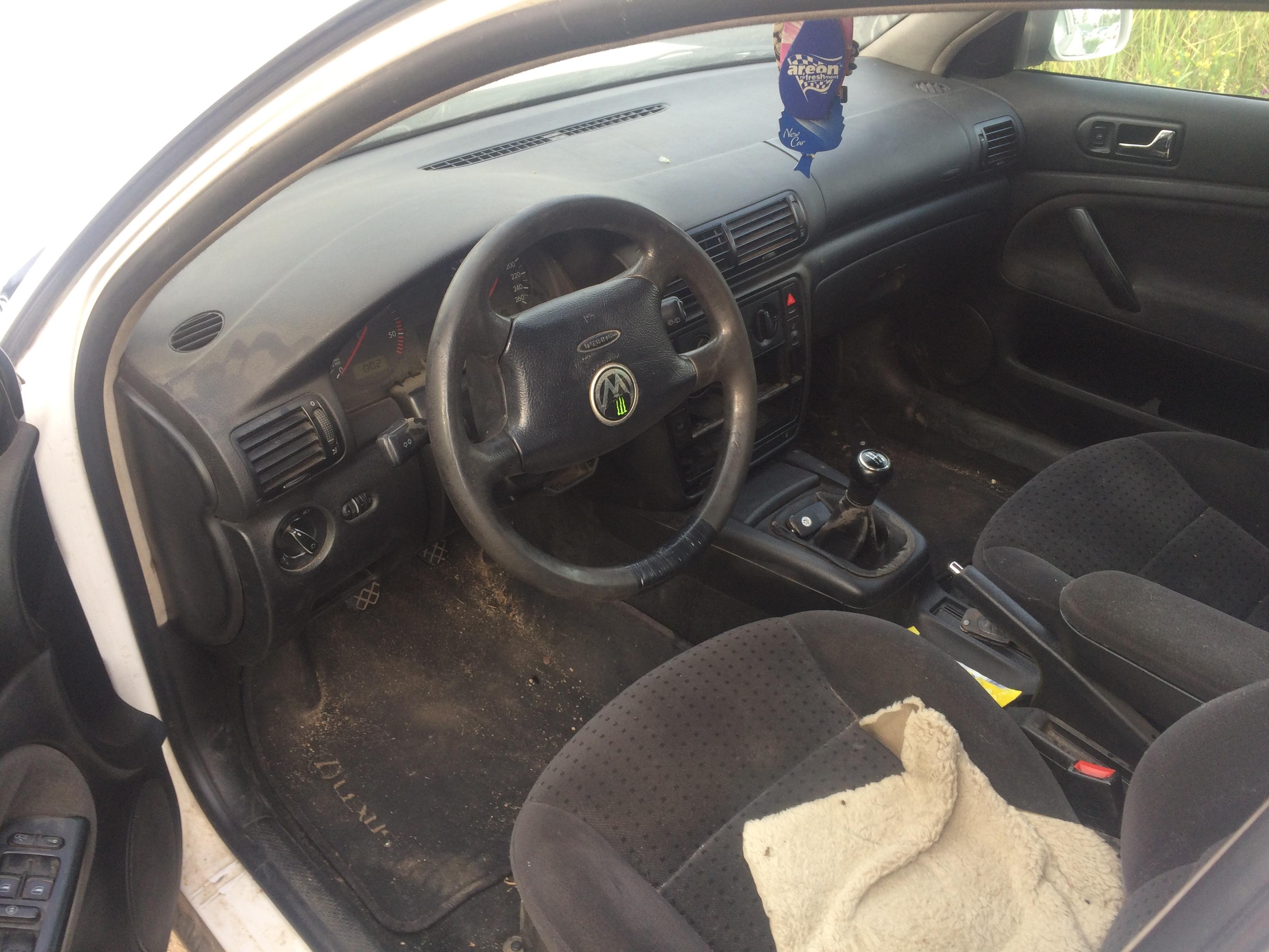 Naudotos automobilio dalys Volkswagen PASSAT 1999 1.9 Mechaninė Universalas 4/5 d. Balta 2018-8-03