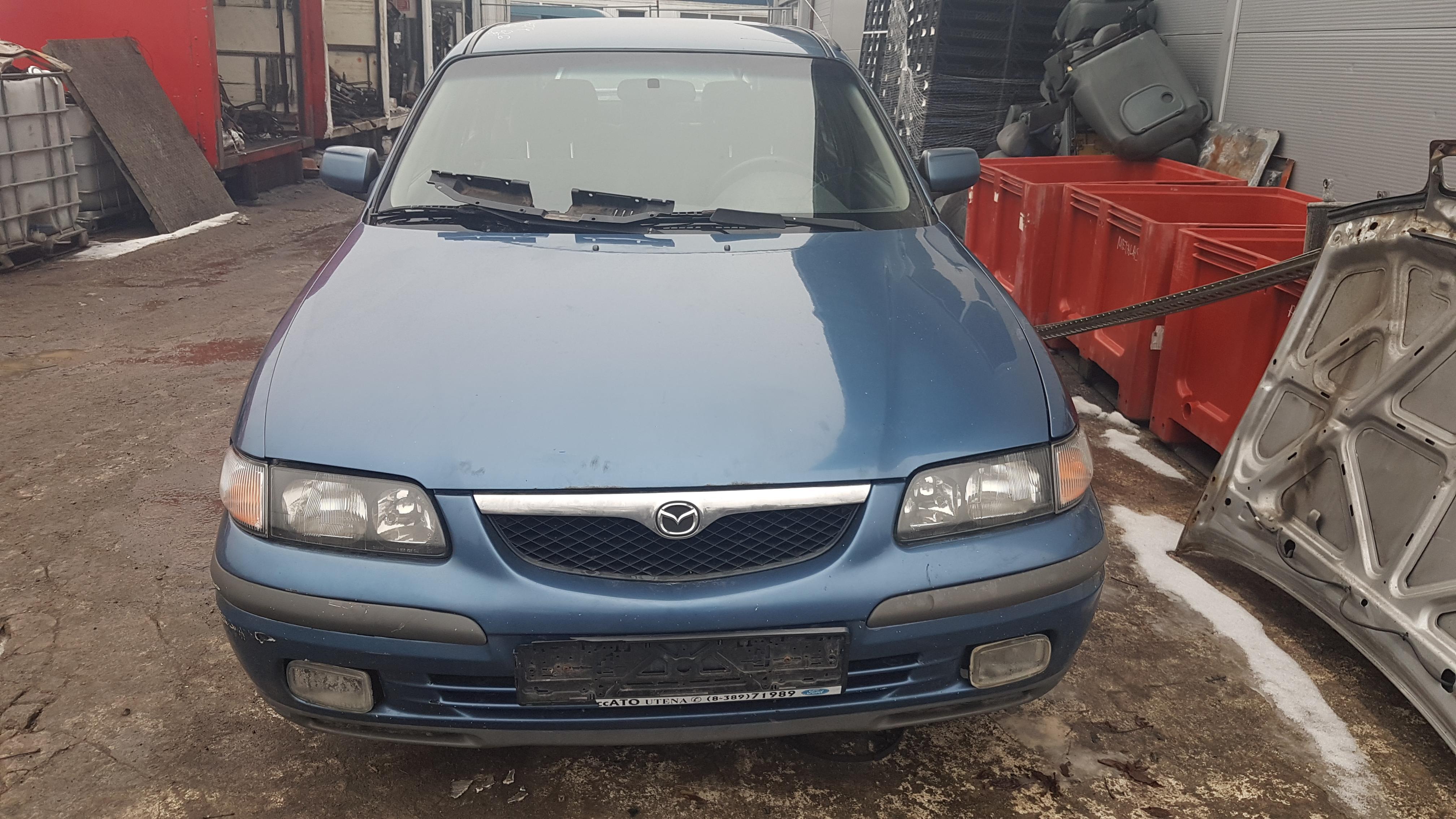 Used Car Parts Mazda 626 2001 1.8 Mechanical Hatchback 4/5 d. Blue 2017-3-08