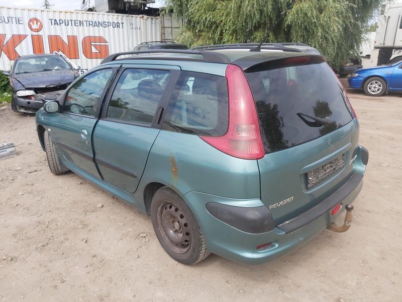 Naudotos automobiliu dallys Foto 7 Peugeot 206 2003 1.4 Mechaninė Universalas 4/5 d. Zalia 2020-7-27 A5464