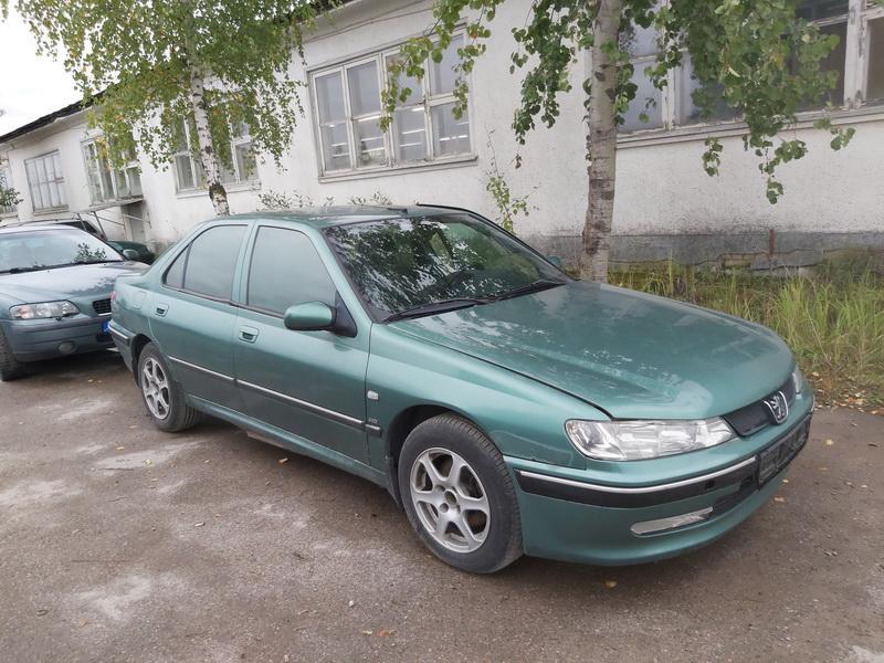 Naudotos automobilio dalys Peugeot 406 2000 2.0 Mechaninė Sedanas 4/5 d. Zalia 2020-9-28