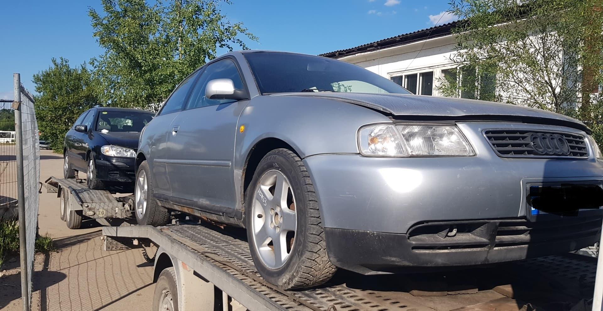 Naudotos automobilio dalys Audi A3 1997 1.9 Mechaninė Hečbekas 2/3 d. Sidabrine 2020-7-17