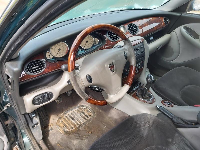Naudotos automobilio dalys Rover 75 2000 2.0 Mechaninė Sedanas 4/5 d. Zalia 2020-5-12