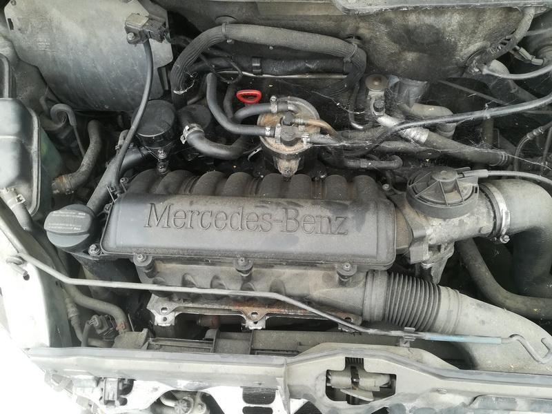 Naudotos automobiliu dallys Foto 2 Mercedes-Benz A-CLASS 2001 1.7 Mechaninė Hečbekas 4/5 d. Sidabrine 2019-7-26 A4660