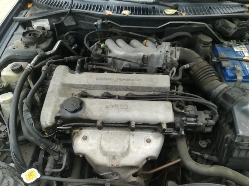 Naudotos automobiliu dallys Foto 2 Mazda 323F 1997 1.8 Automatinė Hečbekas 4/5 d. Melyna 2019-10-03 A4806