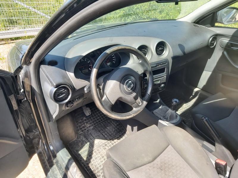 Naudotos automobilio dalys Seat IBIZA 2003 1.4 Mechaninė Hečbekas 2/3 d. Juoda 2020-6-05