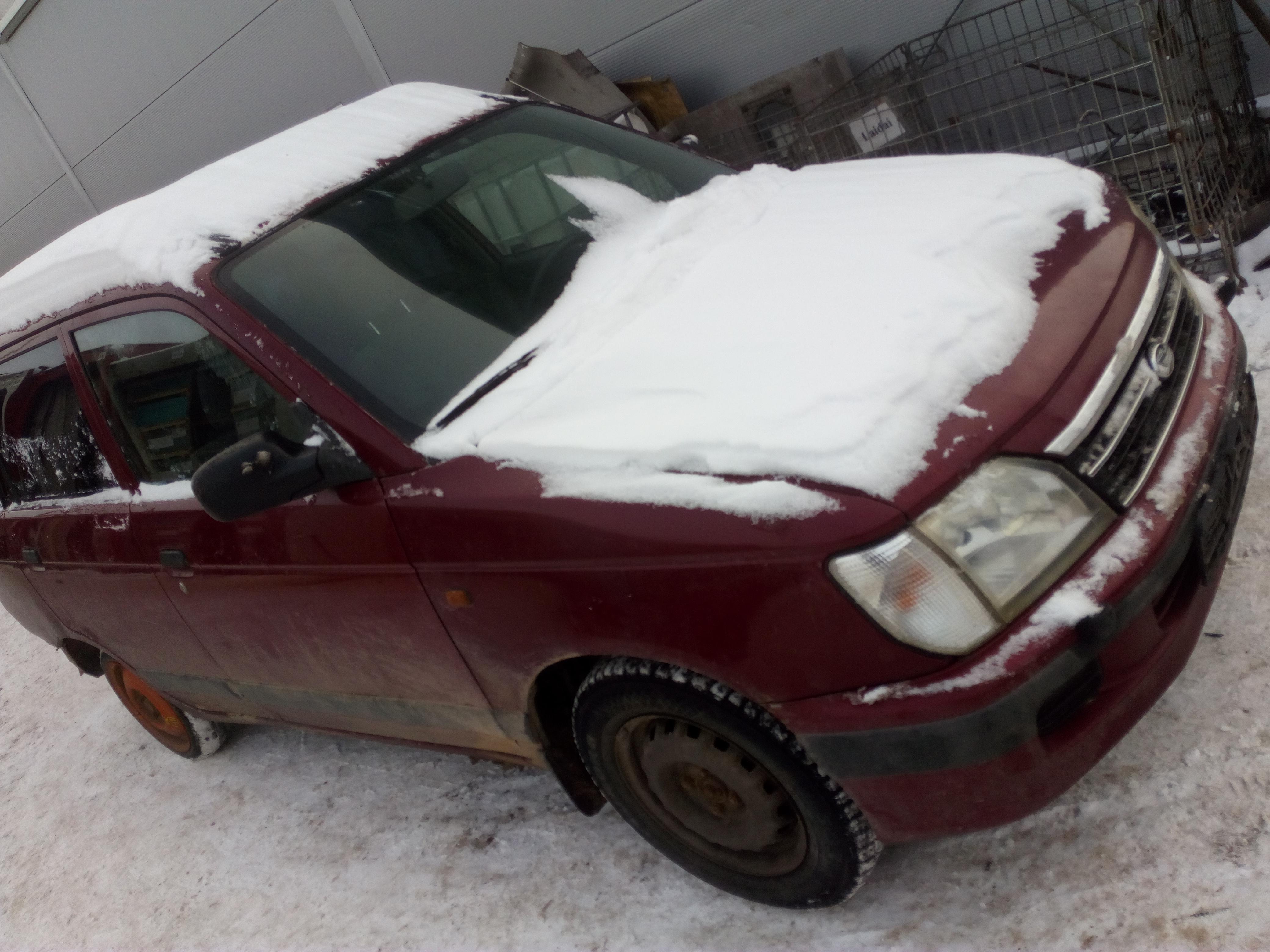 Naudotos automobilio dalys Daihatsu GRAN MOVE 2000 1.6 Mechaninė Hečbekas 4/5 d. Vysnine 2018-1-23